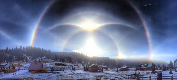 Phenomenal Arcs In New Mexico